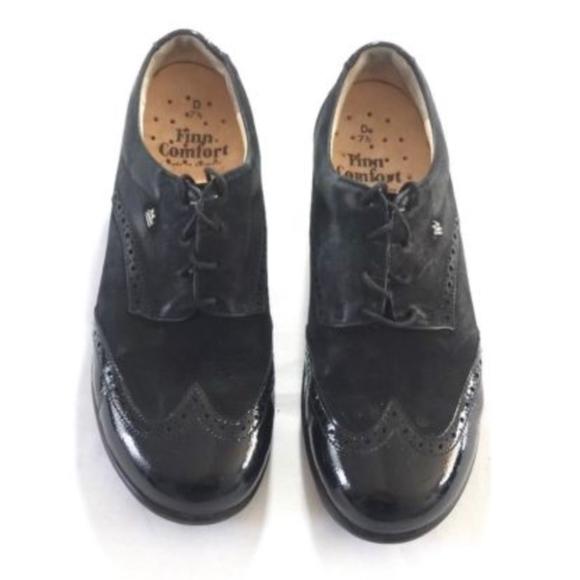 12892a607c92 finn comfort Shoes - FINN COMFORT GOTEBORG Nunbuck Leather Oxford shoes